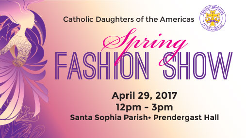 CDA SPRING FASHION SHOW & LUNCHEON